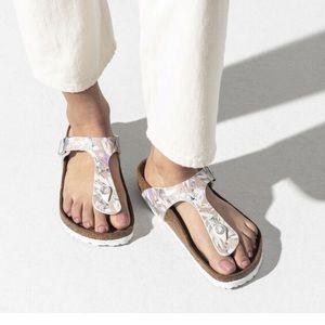 Birkenstock Gizeh Floral Birko-Flor Sandals